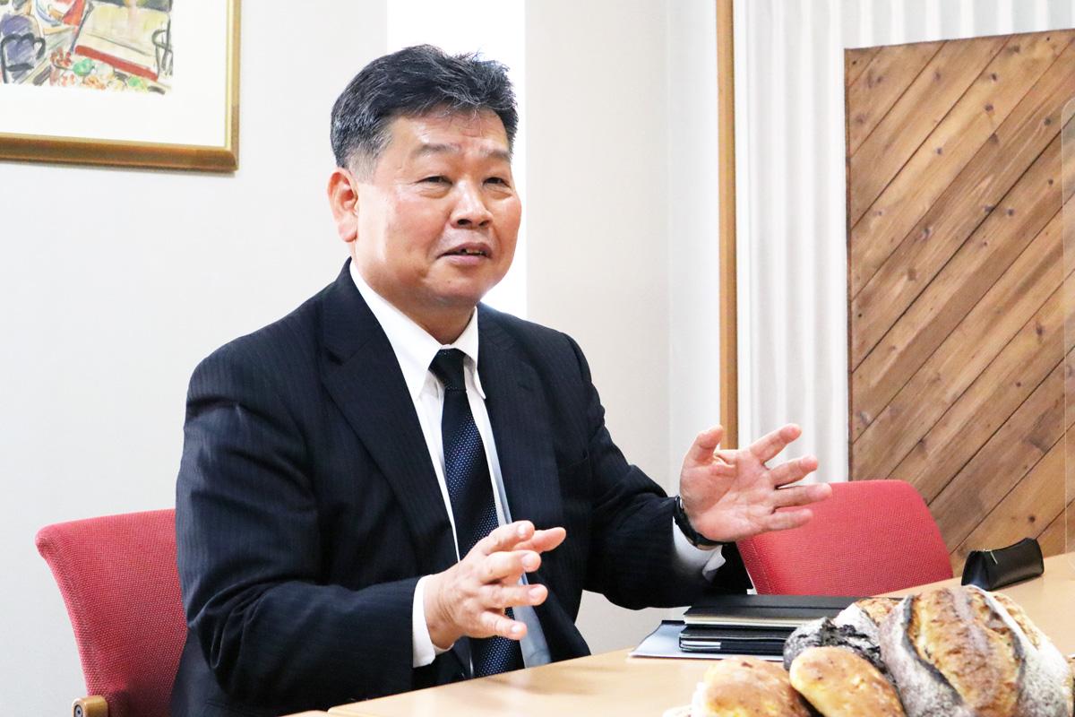 代表取締役 社長執行役員 坂本 和久